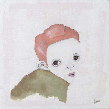 Katcha (40x40 cm, akryl)