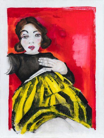 Ruthie (40x60 cm, akryl)